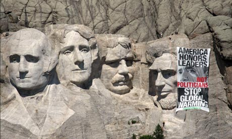A Greener Mount Rushmore